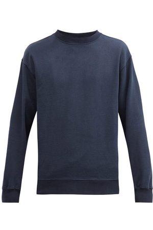 Another Aspect Organic-cotton Jersey Sweatshirt - Mens - Navy