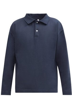 Another Aspect Another Polo Shirt 1.0 Organic-cotton Polo Shirt - Mens - Navy