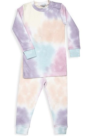 Baby Noomie Baby's & Little Girl's 2-Piece Rainbow Tie-Dye Pajama Set