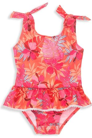 Snapper Rock Baby's & Little Girl's Sustainable Tropical Punch Swimsuit - - Size 6-12 Months