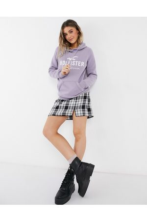 Hollister Hoodies - Front logo hoodie in lilac