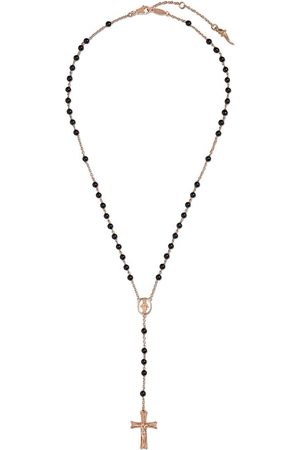 Dolce & Gabbana 18kt rose jade tradition rosary