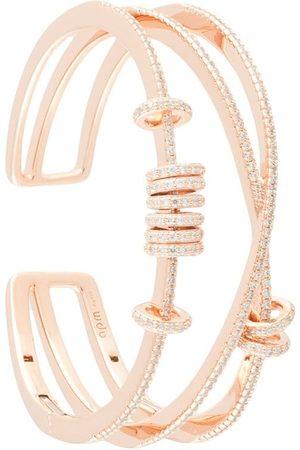 APM Monaco Women Bracelets - Sliding rings triple open cuff