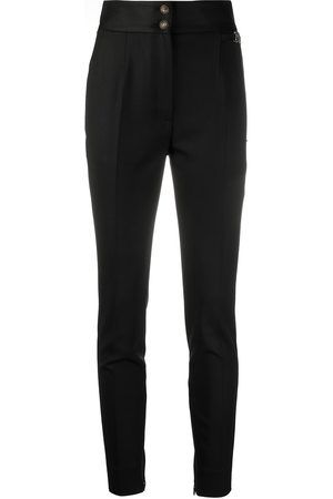 Dolce & Gabbana Logo plaque skinny trousers - Neutrals