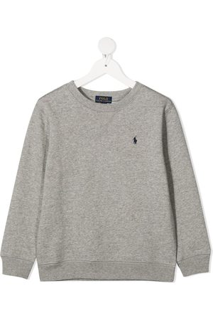 Ralph Lauren Embroidered logo sweatshirt - Grey