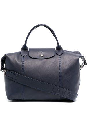 Longchamp Women Tote Bags - Medium Le Pliage Cuir top handle bag
