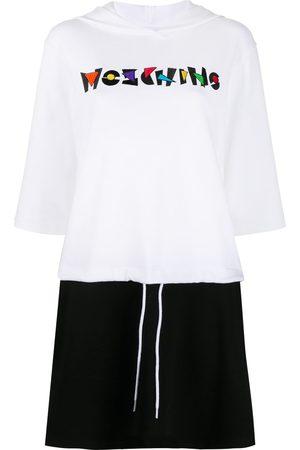 Moschino Drawstring-waist hoodie dress
