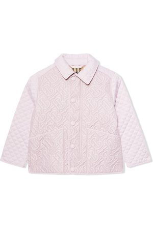 Burberry Monogram quilted jacket