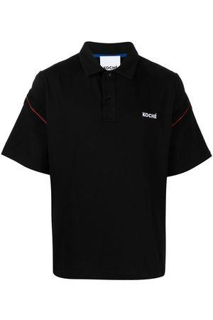 KOCHÉ Logo embroidered polo shirt