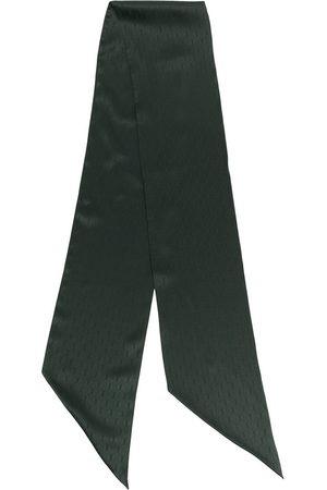 Saint Laurent Logo-jacquard scarf