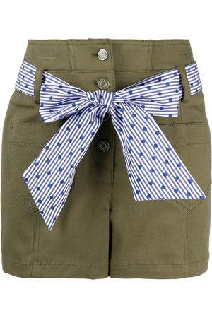 SJYP Waist-tied shorts