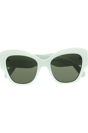 Gucci Oversize cat eye sunglasses