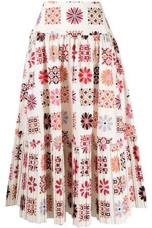 La DoubleJ Balletto midi a-line skirt - Neutrals