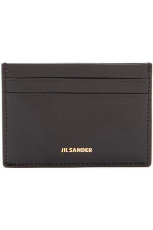 Jil Sander Logo-stamped Smooth-leather Cardholder - Womens