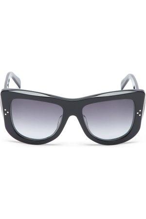 Céline Oversized D-frame Acetate Sunglasses - Womens