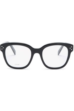 Céline Square Acetate Glasses - Womens