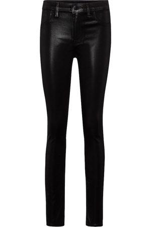 J Brand Maria coated skinny jeans