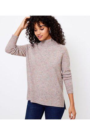 LOFT Women Tunics - Flecked Tunic Sweater