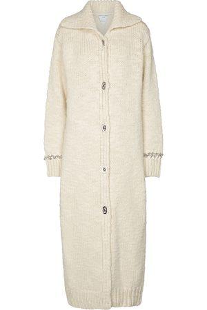 Bottega Veneta Embellished wool-blend cardigan coat