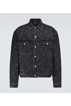 Balenciaga Large fit denim jacket