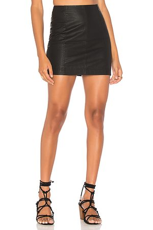 Free People Modern Femme Vegan Mini Skirt in .