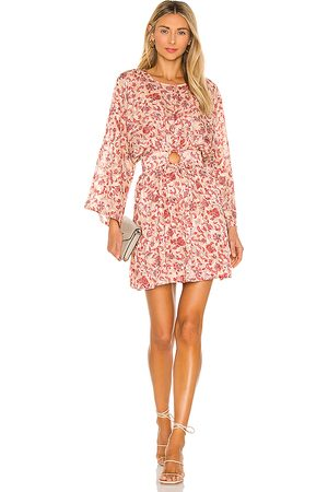 Minkpink Maximilliane Mini Dress in Blush.