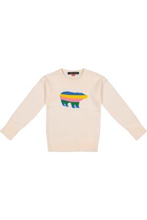 Perfect Moment Bear intarsia merino wool sweater