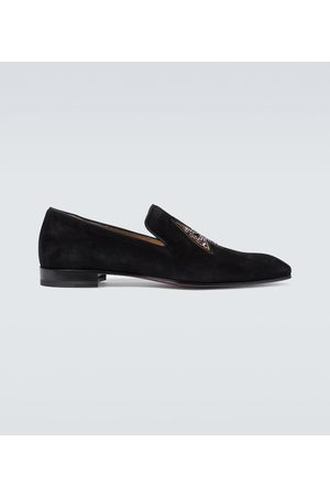 Christian Louboutin Dandelion leather loafers