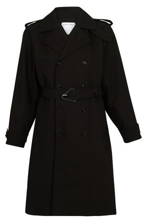 Bottega Veneta Men Trench Coats - Trench double cotton canvas