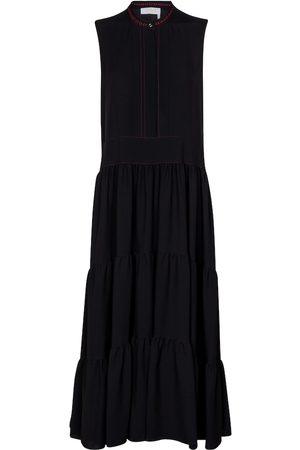 Chloé Tiered cady midi dress