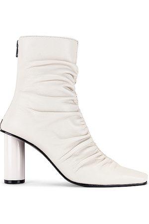 Reike Nen Wrinkle Boots in White.