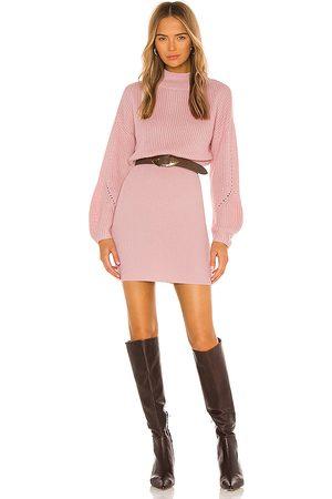 MAJORELLE Monette Dress in Pink.