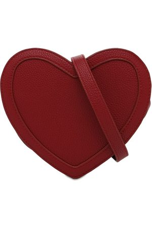 Molo Heart-shaped Faux Leather Bag
