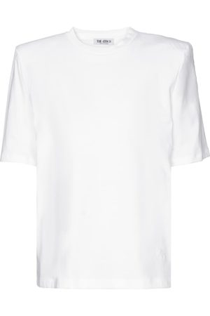 The Attico Bella cotton jersey T-shirt