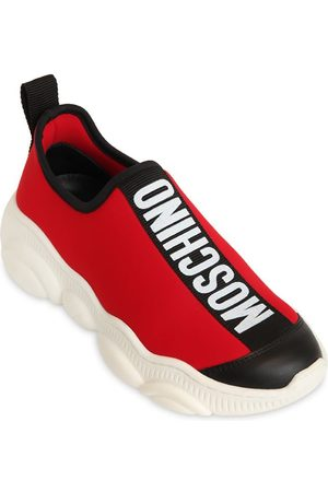 Moschino Knit Sock Sneakers