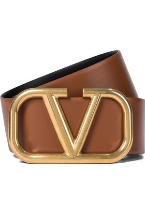 VALENTINO GARAVANI VLOGO reversible leather belt