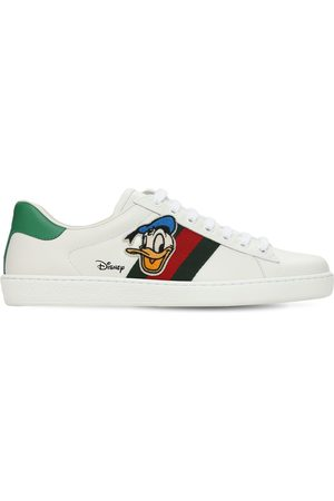 Gucci New Ace Donald Duck Patch Sneakers