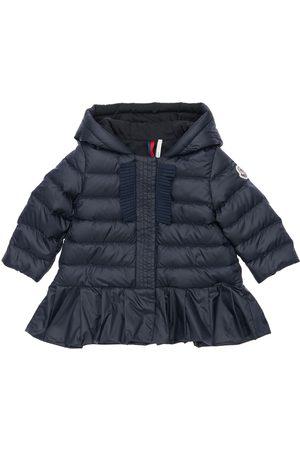 Moncler Neila Hooded Nylon Down Jacket