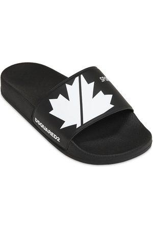 Dsquared2 Printed Slide Sandals