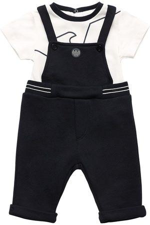 Emporio Armani Cotton Blend Bodysuit & Overalls