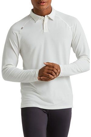 Rhone Men's Delta(TM) Long Sleeve Pique Polo