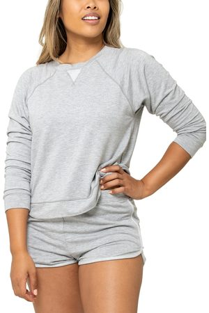 LIVELY Women's The Terry Crew Sweatshirt