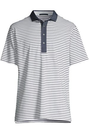 GREYSON Men's Callawasee Striped Polo Shirt - - Size Large