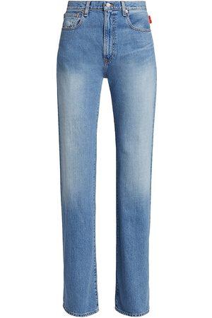 Denimist Women's Evelyn High-Rise Wide-Leg Jeans - - Size 29 (6-8)