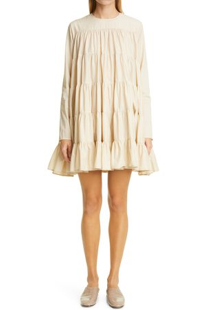 Merlette Women's Soliman Tiered Long Sleeve Dress