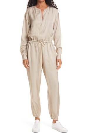 ATM Anthony Thomas Melillo Women's Long Sleeve Jogger Jumpsuit