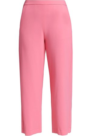 PIAZZA SEMPIONE Women's Jennifer Fluid Stretch Trousers - - Size 48 (12)