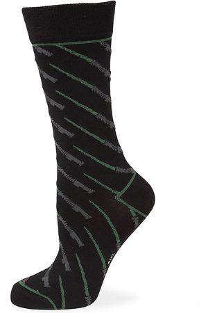 Cufflinks, Inc. Men's Star Wars Green Lightsaber Socks