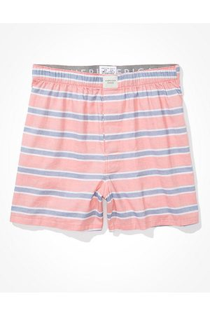 American Eagle Outfitters O Striped Stretch Boxer Short Men's XS