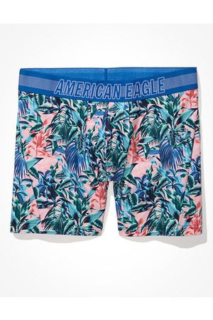"""American Eagle Outfitters O Tropical 6"""" Swundies Boxer Brief Men's XS"""